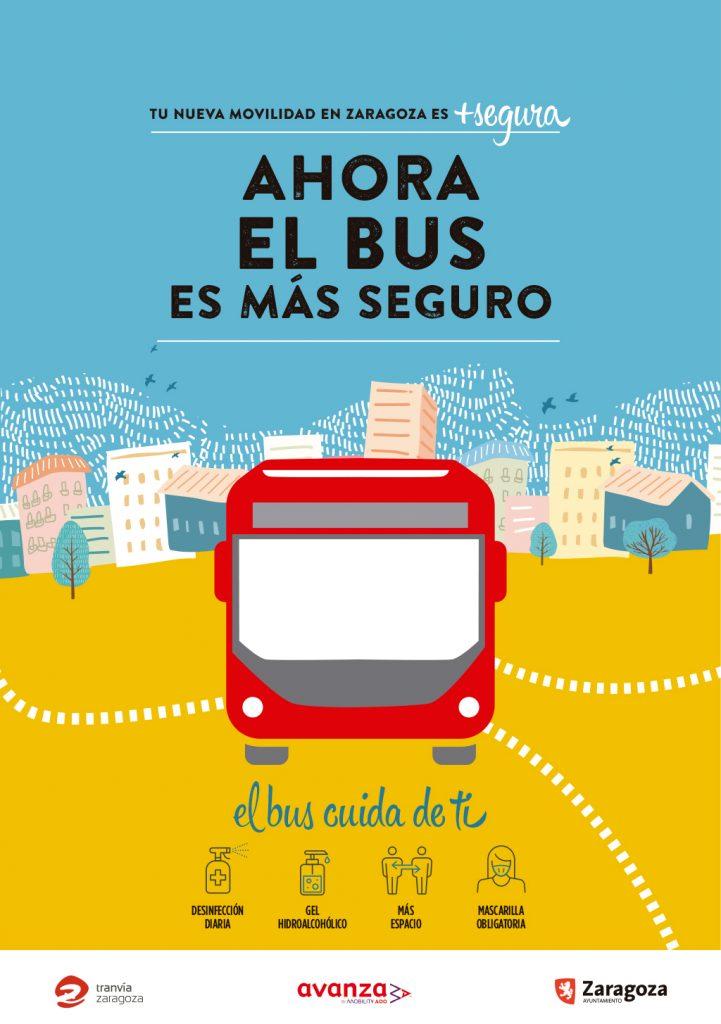 gráfica Bus Tu nueva movilidad + segura